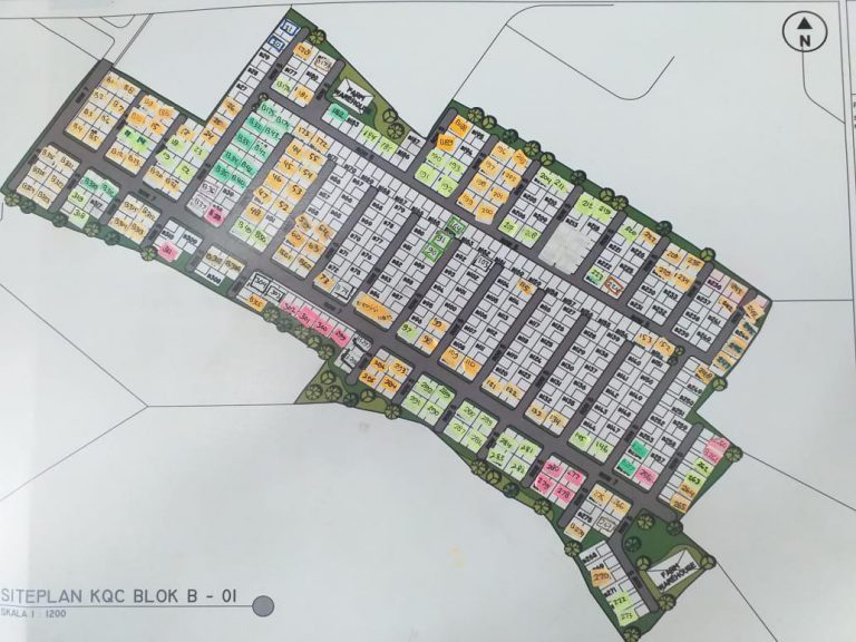 siteplan kampung quran cianjur