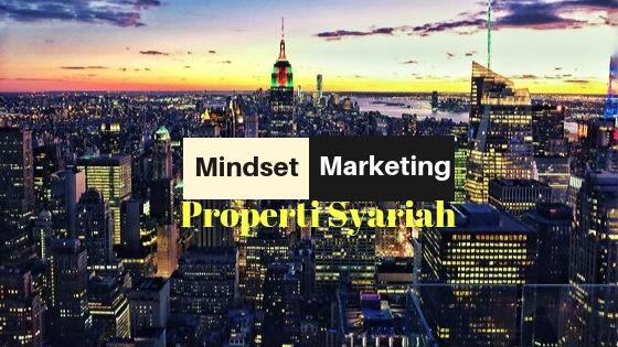 Sukses Dengan 5 Mindset Marketing Properti Syariah