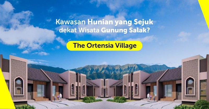 the ortensia village dengan sensai alam pedesaan