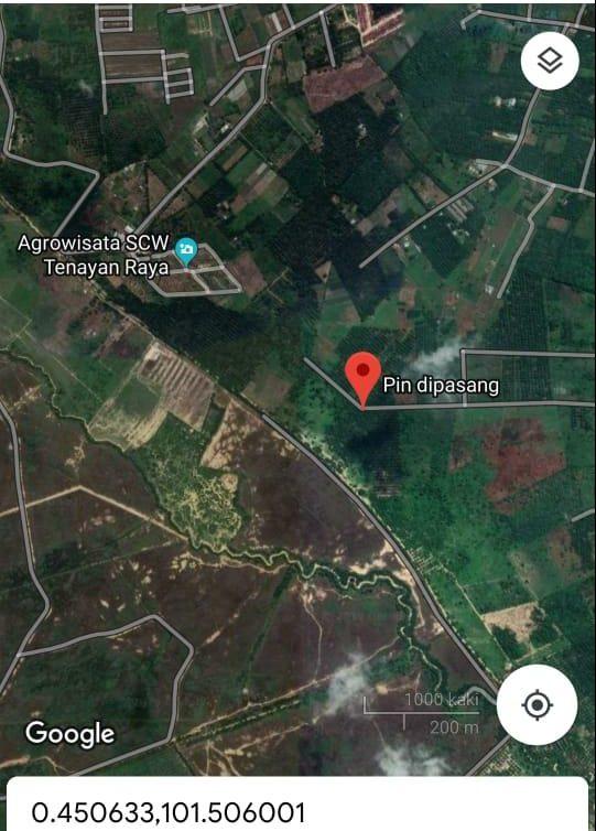 lokasi agrovillage pekanbaru