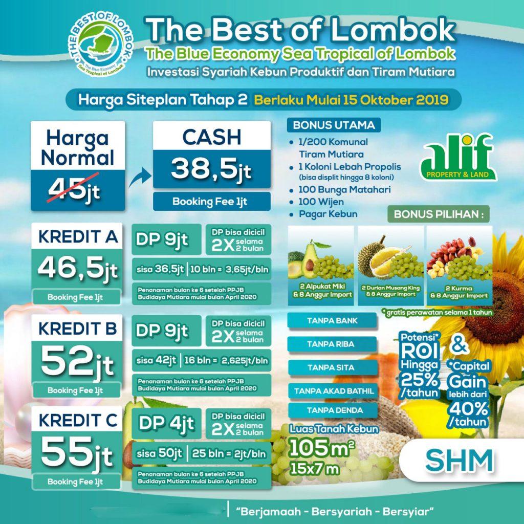 harga kavling lombok