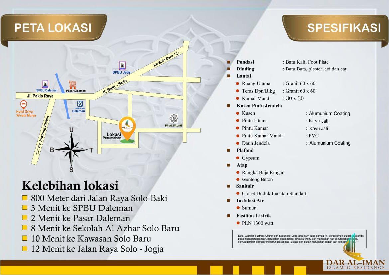 peta lokasi rumah syariah solo