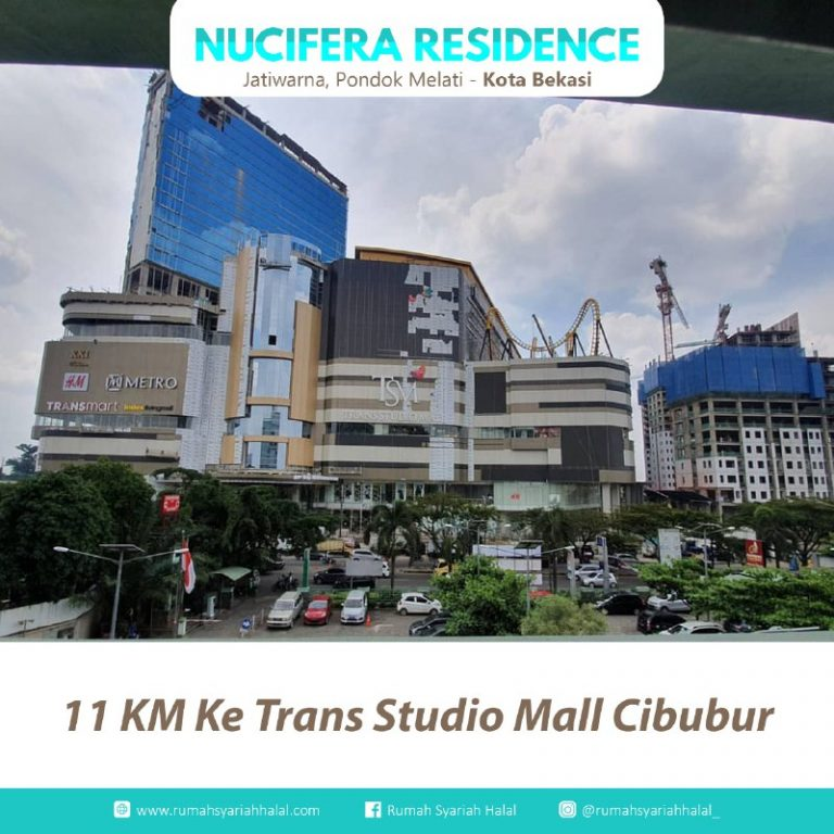 Rumah 2 Lantai di Bekasi-Nucivera Residence-akses mall cibubur