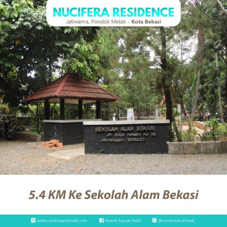 Rumah 2 Lantai di Bekasi-Nucivera Residence-akses sekolah alam bebas