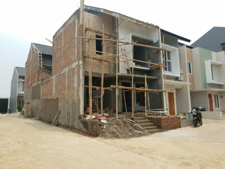 Rumah 2 Lantai di Bekasi-Nucivera Residence-pembangunan rumah 2