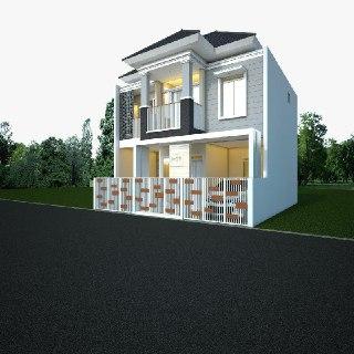 rumah contoh Cluster Jatisari Village - Kota Bekasi
