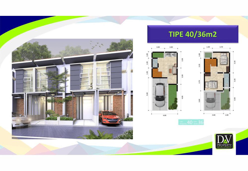 Properti Syariah- Rumah 2 Lantai Sudah Tersedia-desain rumah alihsan residence 11