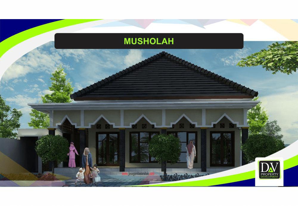 Properti Syariah- Rumah 2 Lantai Sudah Tersedia-dekat masjid