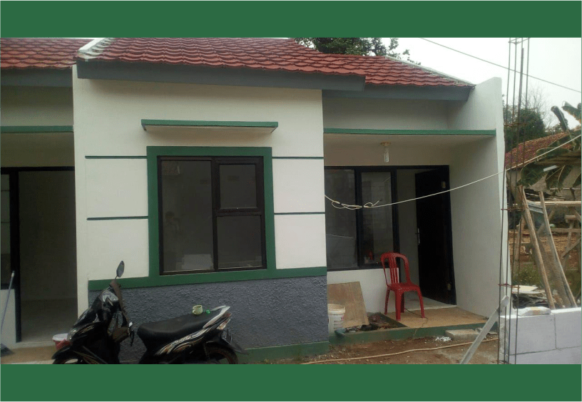 Rumah Syariah Ready Stok-Rumah Syariah Dekat Stasiun-area kaca