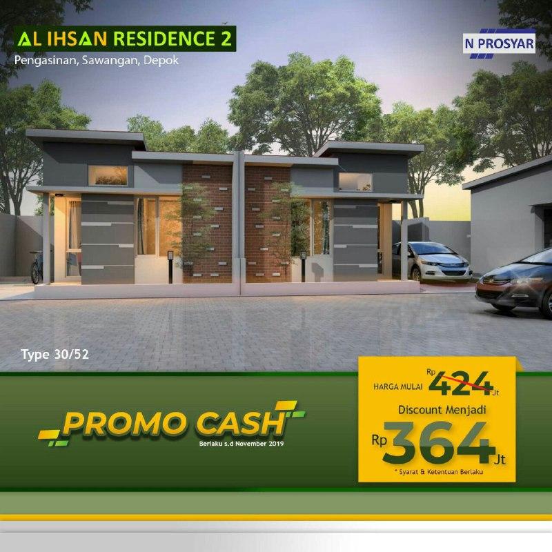 Properti Syariah- Rumah 2 Lantai Sudah Tersedia-Promo cash