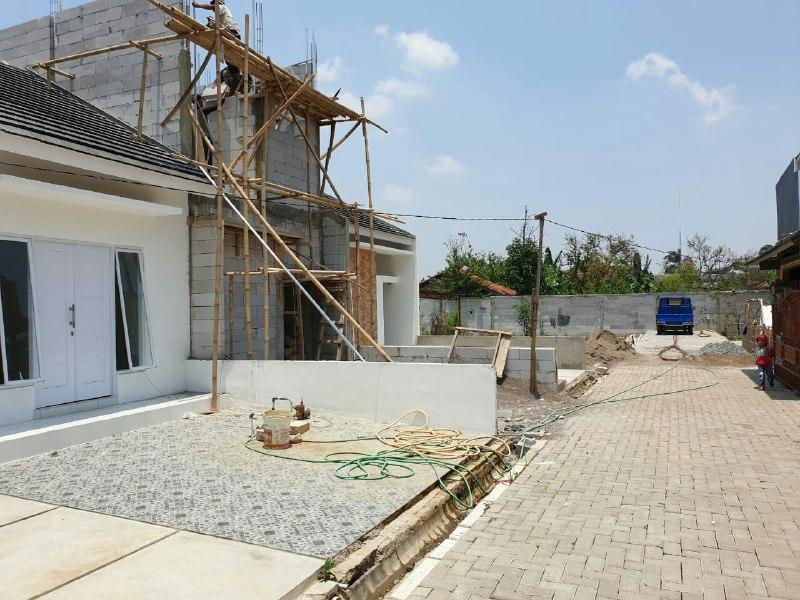 Rumah 2 Lantai Halal-Rumah Syariah Cikarang-jalan