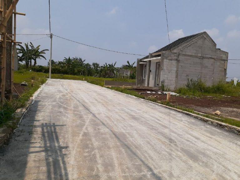 Rumah Syariah Kota Bogor-Bumi Salsabila Indah Dramaga -jalan kompleks