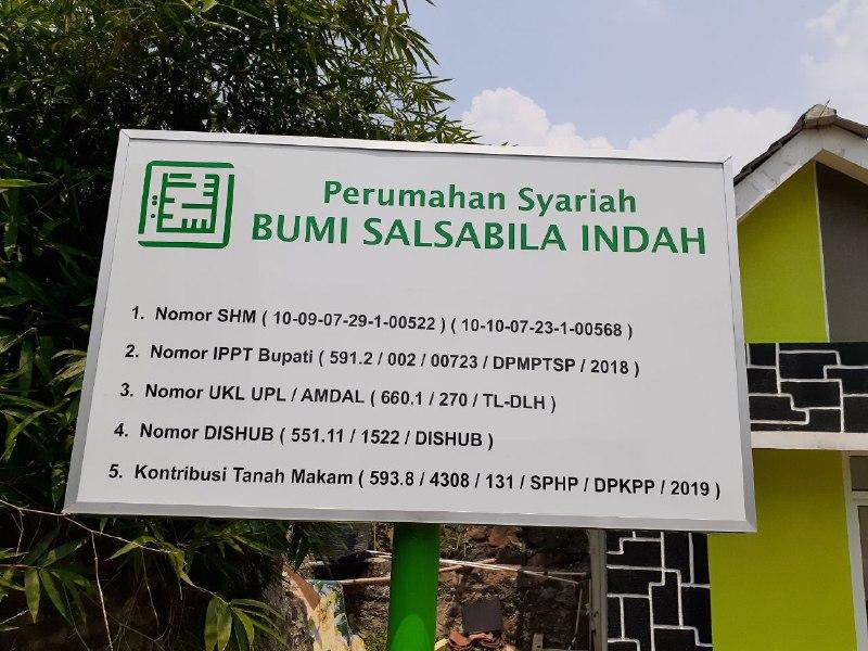 Rumah Syariah Kota Bogor-Bumi Salsabila Indah Dramaga -legalitas