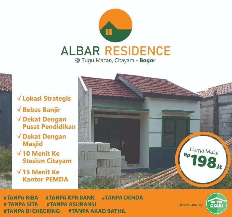 Rumah Syariah Ready Stok-Rumah Syariah Dekat Stasiun-cover