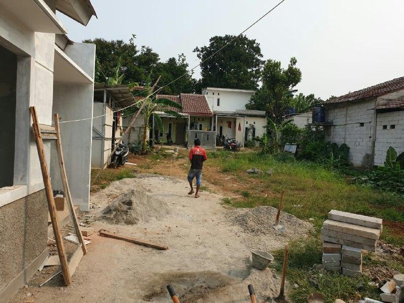 Rumah Syariah Ready Stok-Rumah Syariah Dekat Stasiun-pembangunan 2