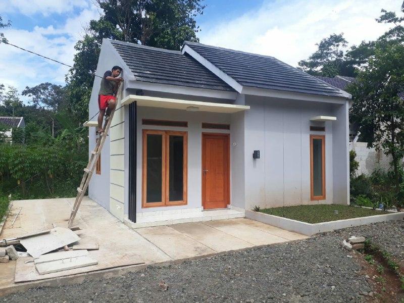 Rumah Syariah di Citayam-Rumah 200 Jutaan-progres pembangunan