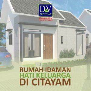 Rumah Syariah di Citayam-Rumah 200 Jutaan-rumah idaman