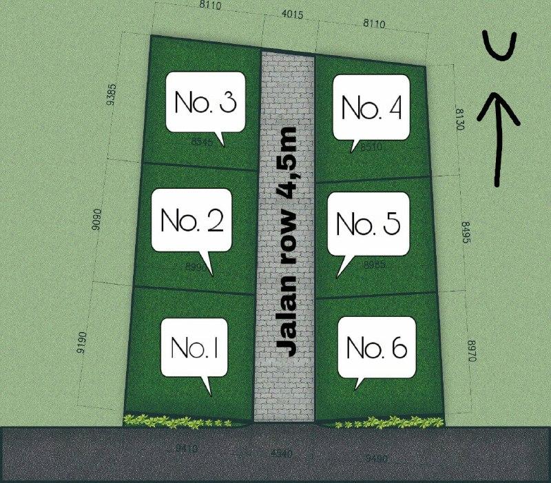 Rumah Syariah di Citayam-Rumah 200 Jutaan-siteplan