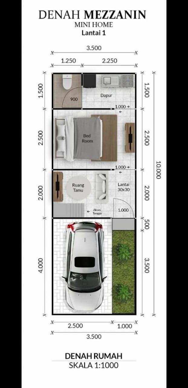 minihome-Rumah 100 jutaan di Bogor-7