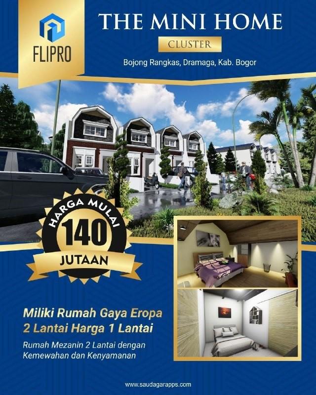 minihome-Rumah 100 jutaan di Bogor