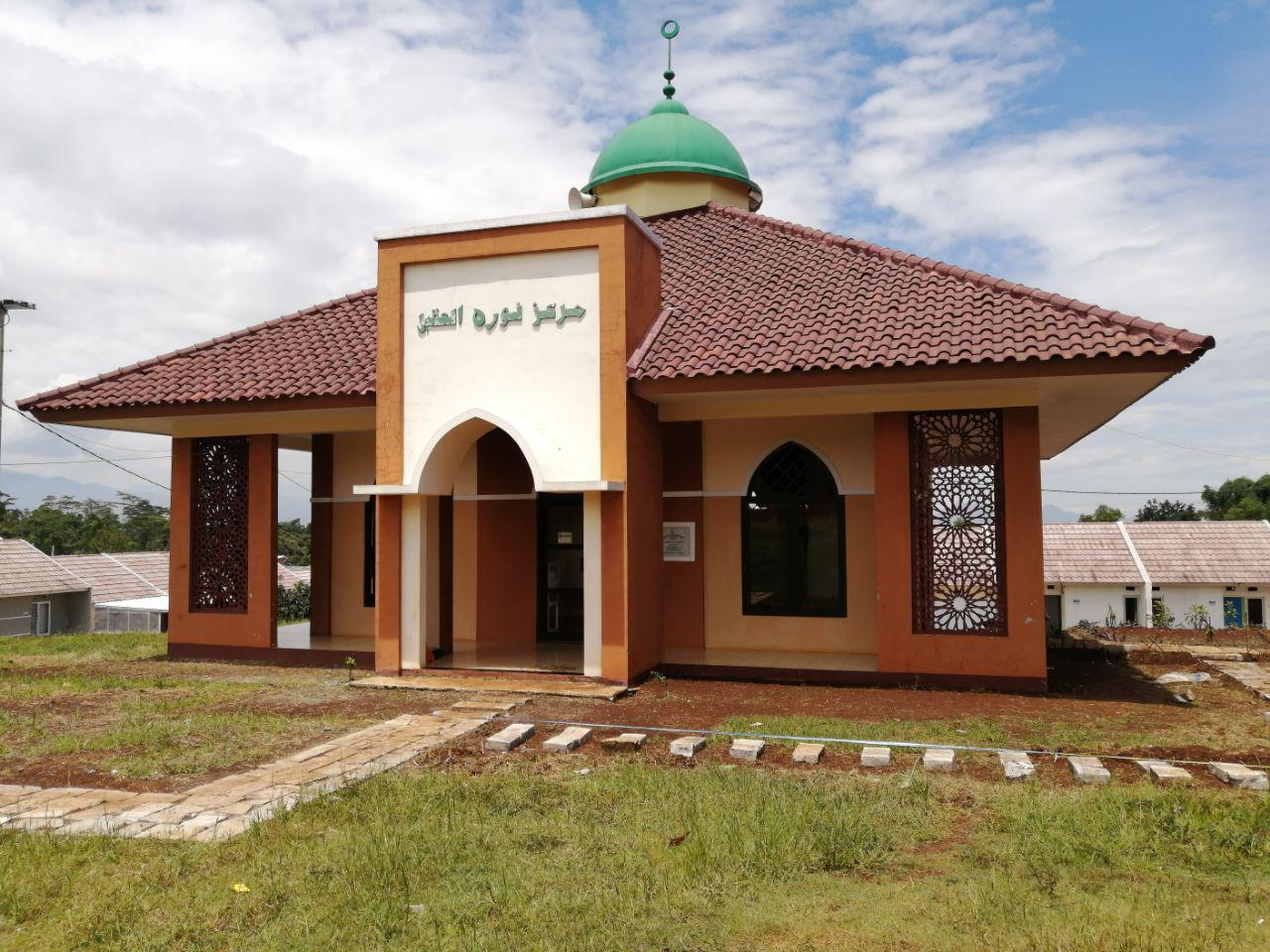 masjid di perumahan baros city view bandung