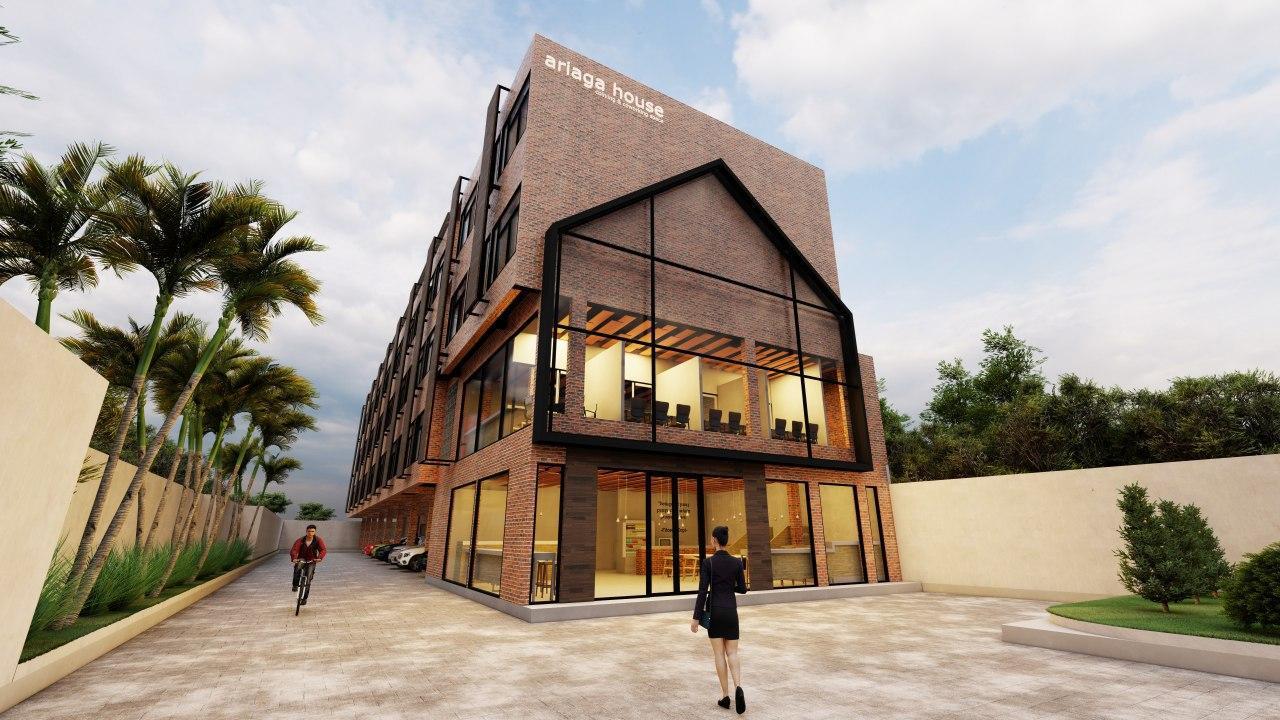 facade ariaga house