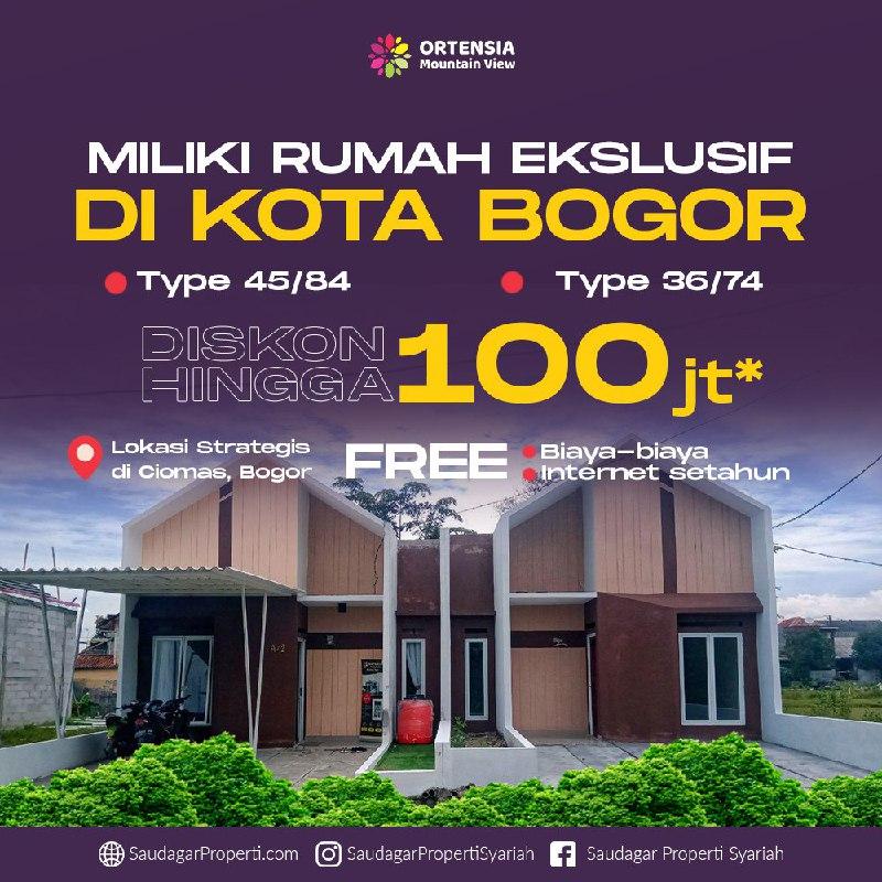 new normal - Rumah syariah di Bogor-ortensia-85