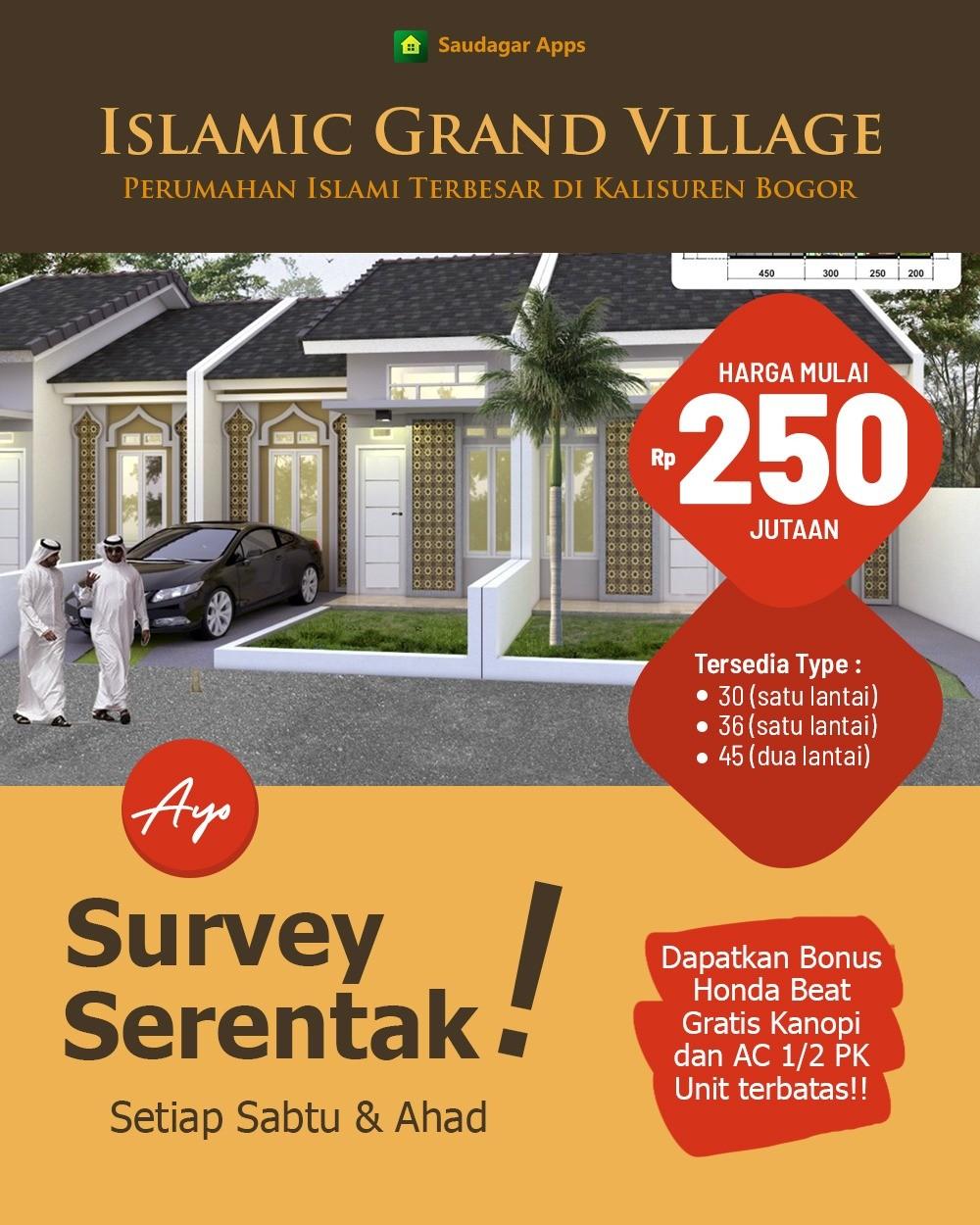 promo survey serentak islamic grand village