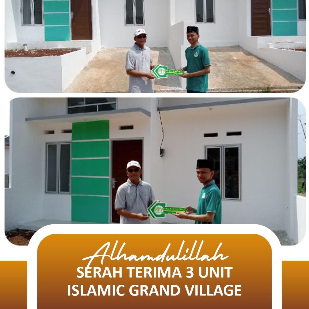 serah terima islamic grand village