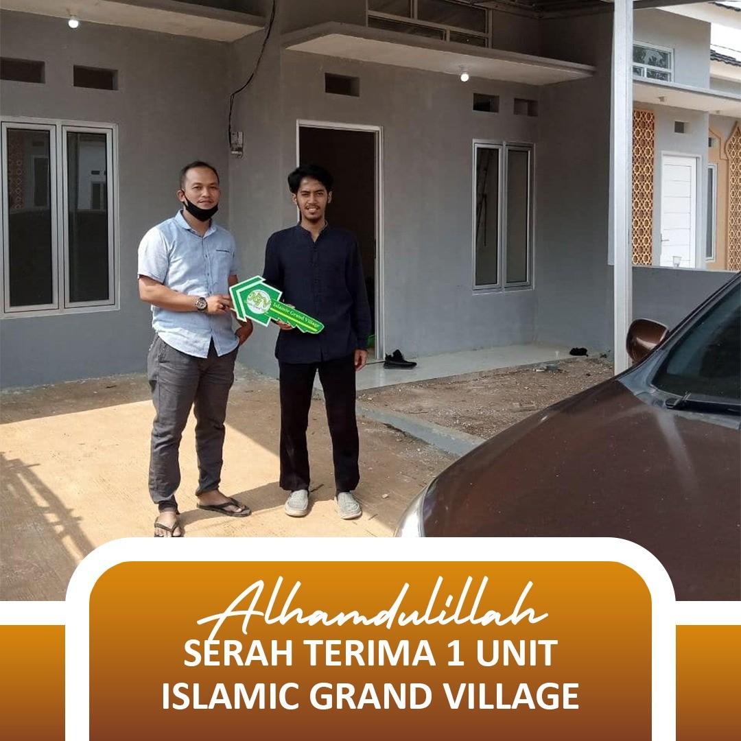 serah terima rumah islamic grand village kalisuren