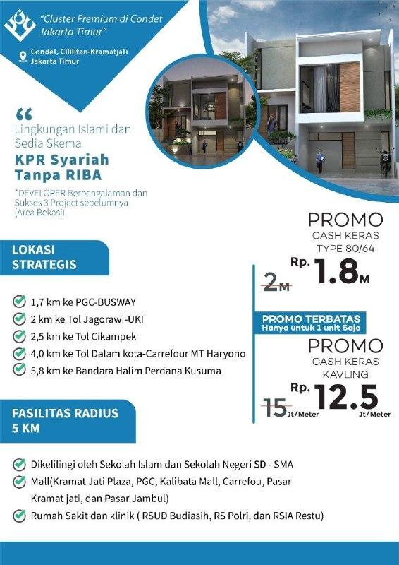Rumah Syariah 2 lantai Jakarta Timur-adn Residence-22