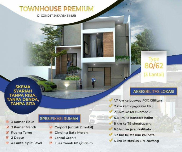 Rumah Syariah 2 lantai Jakarta Timur-adn Residence-28
