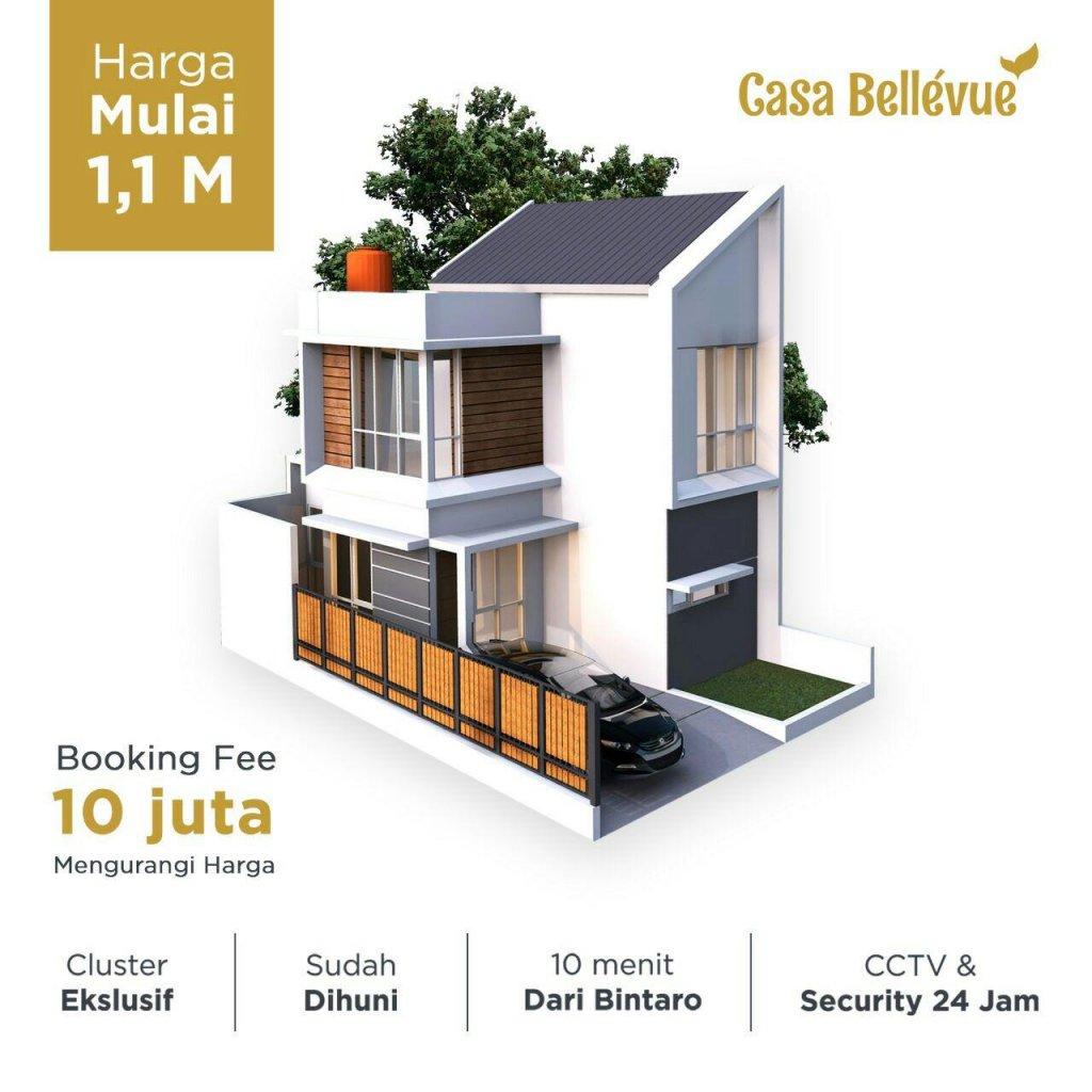 cluster casa bellevue tangerang