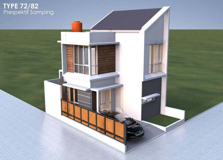 cluster syariah casa bellevue type 72