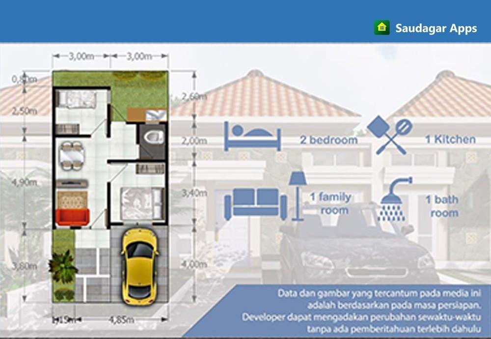 spsifikasi rumah jual rumah purwakarta