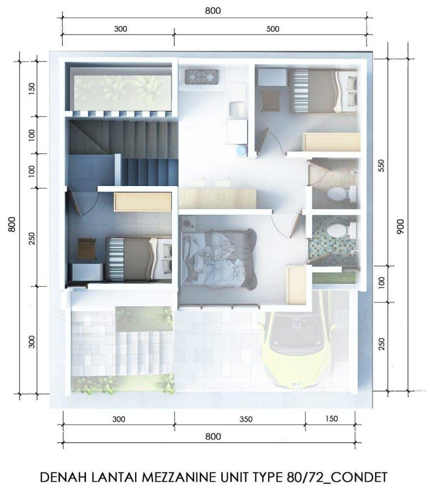 lantai mezzanine adn residence