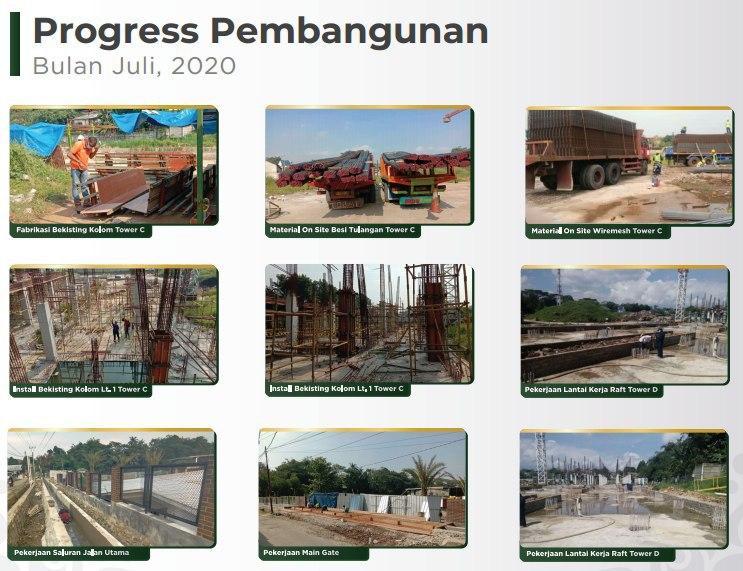 progres pembangunan dekost indonesia