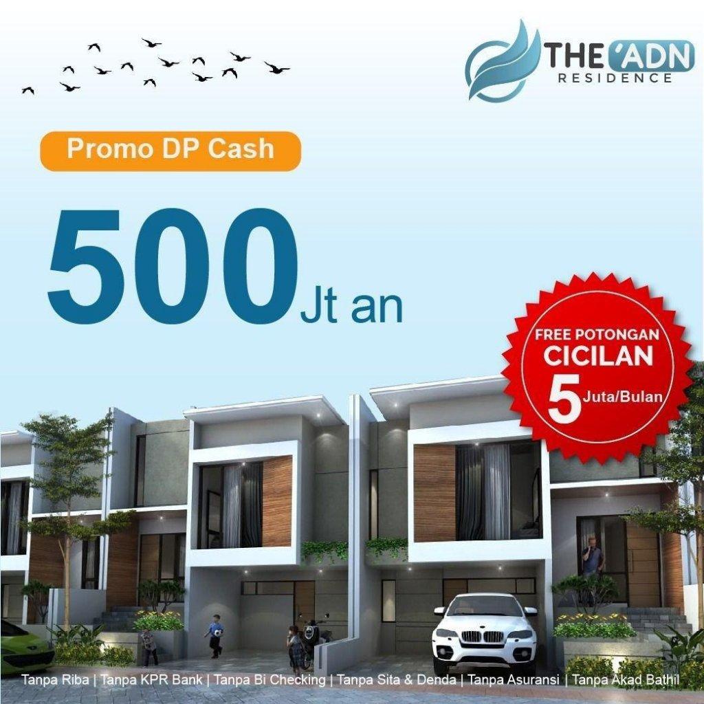 promo dp cash adn residence