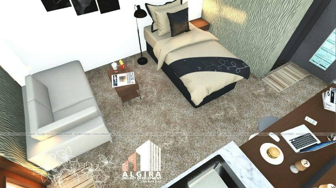interior guest house bogor