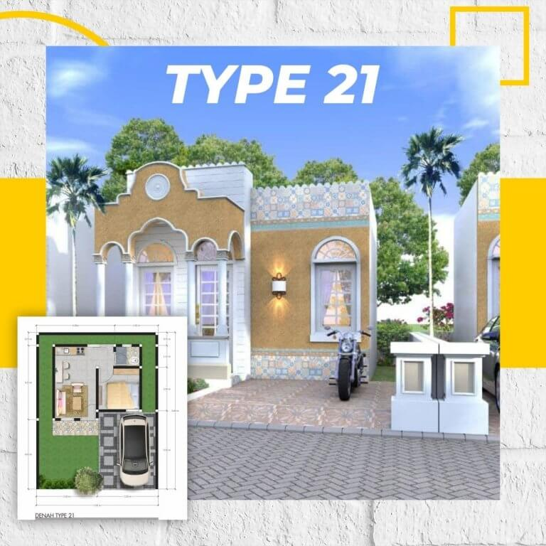 rumah type 21 tasnim otsmani