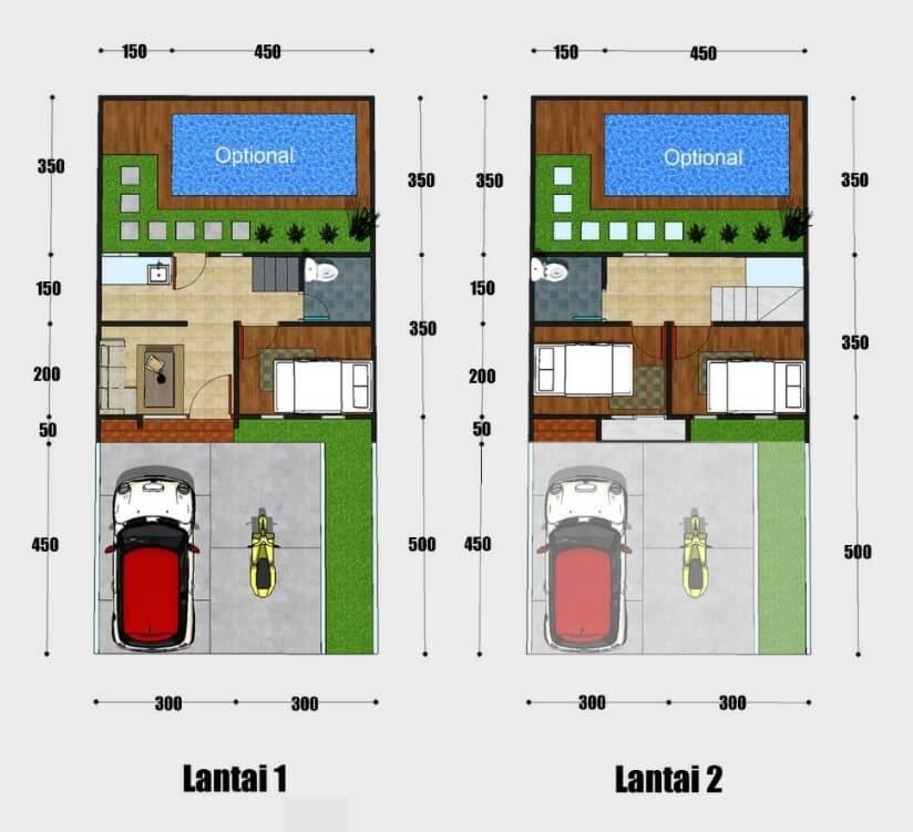 rumah type 42
