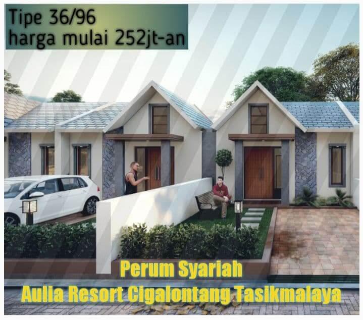 rumah type 36 aulia resort cigalontang